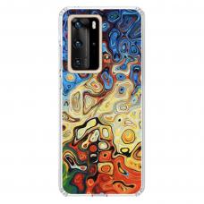 "Huawei P40 Pro TPU dėklas unikaliu dizainu 1.0 mm ""u-case Airskin Pattern 1 design"""