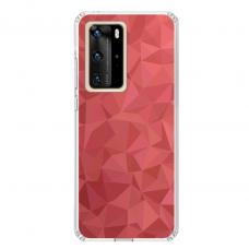 "Huawei P40 Pro TPU dėklas unikaliu dizainu 1.0 mm ""u-case Airskin Pattern 6 design"""