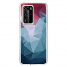 "Huawei P40 Pro TPU dėklas unikaliu dizainu 1.0 mm ""u-case Airskin Pattern 8 design"""