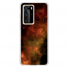 "Huawei P40 Pro TPU dėklas unikaliu dizainu 1.0 mm ""u-case Airskin Space 1 design"""