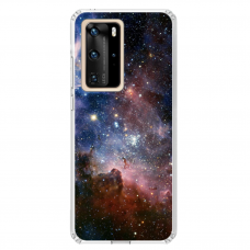 "Huawei P40 Pro TPU dėklas unikaliu dizainu 1.0 mm ""u-case Airskin Space 2 design"""
