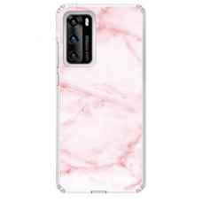 "Huawei P40 TPU DĖKLAS UNIKALIU DIZAINU 1.0 MM 1.0 mm ""u-case airskin Marble 5 design"""