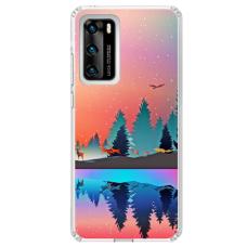 "Huawei P Smart 2021 TPU dėklas unikaliu dizainu 1.0 mm ""u-case Airskin Nature 5 design"""