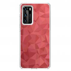"Huawei P40 TPU dėklas unikaliu dizainu 1.0 mm ""u-case Airskin Pattern 6 design"""