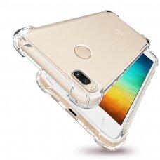 Akcija! Huawei P8 / P9 lite 2017 dėklas ANTISHOCK Skaidrus 0,5mm SILIKONINIS