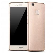 Huawei P9 lite dėklas X-LEVEL GUARDIAN silikonas aukso spalvos