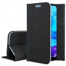 Huawei y5 2019/ Honor 8s atverčiamas dėklas Luna Carbon juodas