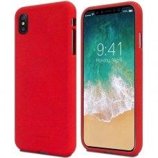 huawei y5 2019 dėklas MERCURY JELLY SOFT silikoninis raudonas