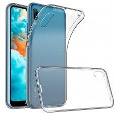 Huawei y6 2019 X-level antislip permatomas skaidrus dėklas 0.78 mm silikonas