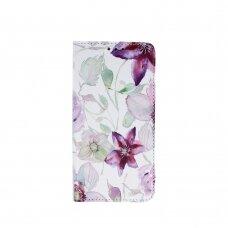 huawei y5p atverčiamas dėklas smart trendy gėlės
