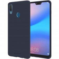 Huawei Y7 2019 / y7 prime 2019 dėklas Mercury Jelly case silikonas tamsiai mėlynas