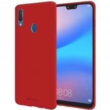 Huawei Y7 2019 / y7 prime 2019 dėklas Mercury Jelly case silikonas raudonas