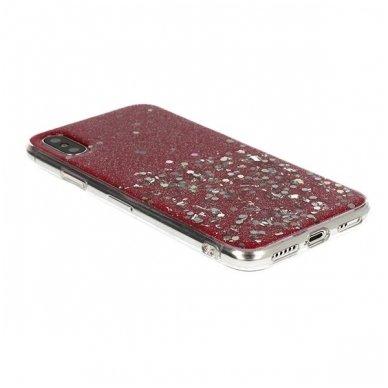 Huawei Mate 20 lite dėklas Vennus Briliant TPU raudonas 2