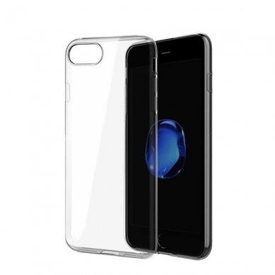 Xiaomi Mi A2 Lite DĖKLAS ultra slim 0,5 mm SILIKONAS SKAIDRUS