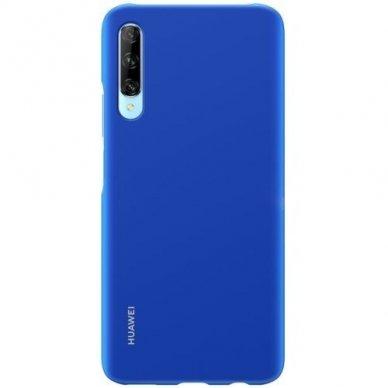 Akcija!  Huawei P Smart Pro Originalus dėklas Protective Case PC Transparent Mėlynas 3