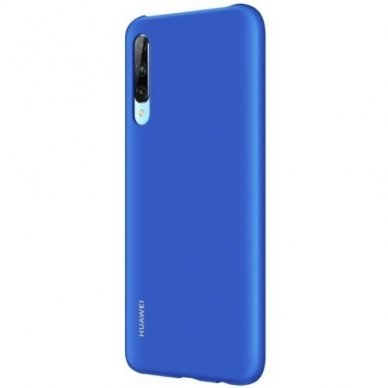 Akcija!  Huawei P Smart Pro Originalus dėklas Protective Case PC Transparent Mėlynas