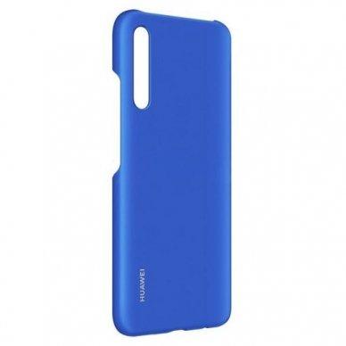 Akcija!  Huawei P Smart Pro Originalus dėklas Protective Case PC Transparent Mėlynas 4
