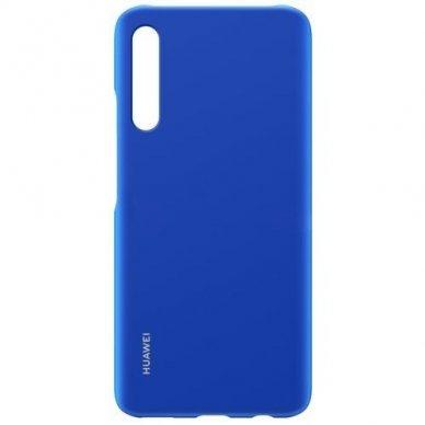 Akcija!  Huawei P Smart Pro Originalus dėklas Protective Case PC Transparent Mėlynas 2