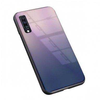 "Samsung a70 Dėklas ""Aurora""  rudas-juodas  2"