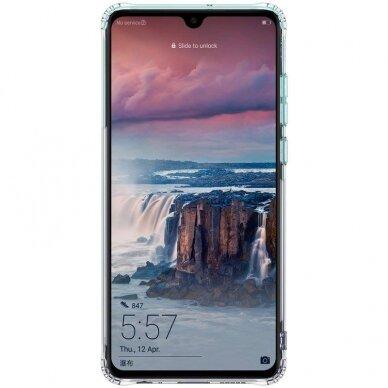 "Huawei P40 Pro TPU dėklas unikaliu dizainu 1.0 mm ""u-case Airskin Blue design"" 2"