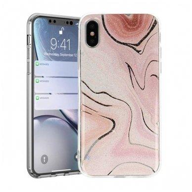 Huawei Y7 2019 / Y7 Prime 2019 dėklas Vennus Stone TPU plastikas rožinis