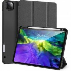 """iPad Pro 12.9 2021 atverčiamas dėklas """"Dux Ducis Domo"""" juodas"""