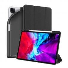 """iPad Pro 12.9 2020 atverčiamas dėklas """"Dux Ducis OSOM"""" juodas"""