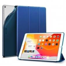 Akcija! iPad Pro 11 2018 atverčiamas dėklas ESR Rebound tamsiai mėlynas