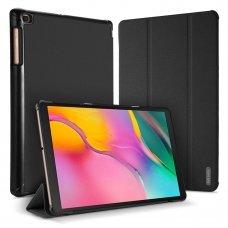 """Samsung Galaxy Tab A 10.1 2019 atverčiamas dėklas """"Dux Ducis Domo""""  juodas"""