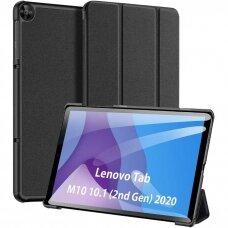 """Lenovo Tab M10 Plus X606 10.3 atverčiamas dėklas """"Dux Ducis Domo""""  juodas"""