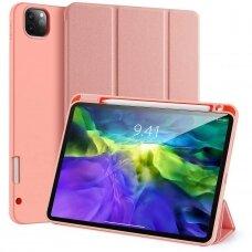 """iPad Pro 12.9 2020 atverčiamas dėklas """"Dux Ducis Domo"""" rožinis"""