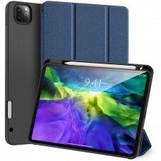 """iPad Pro 12.9 2020 atverčiamas dėklas """"Dux Ducis Domo"""" mėlynas"""