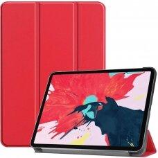 """iPad Pro 11 2020 atverčiamas dėklas """"Smart Leather"""" eko oda raudonas"""