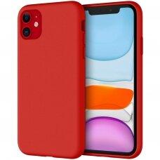 Iphone 11 Araree Typo Skin dėklas silikonas raudonas