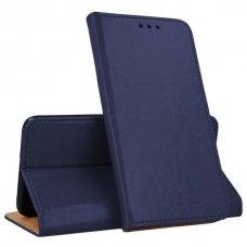 huawei p smart z atverčiamas dėklas Smart Pro odinis mėlynas