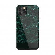Iphone 11 dėklas   Devia Marble TPU žalias