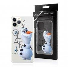 Iphone 11 dėklas Disney Olaf 004 skaidrus
