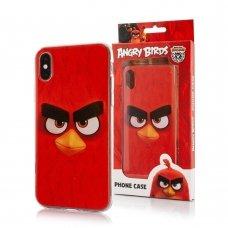 Iphone 11 pro dėklas Angry Birds silikonas raudonas