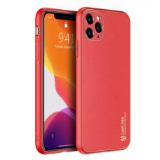 Iphone 11 pro max dėklas Dux Ducis Yolo raudonas