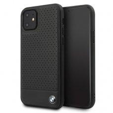 iphone 11 dėklas BMW odinis juodas