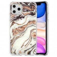 iphone 12 mini dėklas GLITTER MARBLE silikonas 1