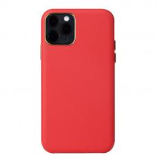 Iphone 12 pro max dėklas Leather Case odinis raudonas