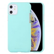 iphone 11 pro max DĖKLAS MERCURY JELLY SOFT SILIKONINIS mėtinis