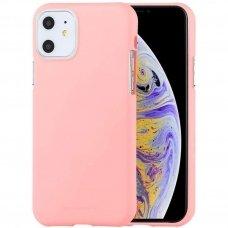 iphone 11 pro max DĖKLAS MERCURY JELLY SOFT SILIKONINIS rožinis
