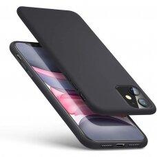 Iphone 11 pro max dėklas MERCURY SILICONE juodas