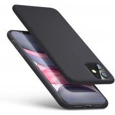 Iphone 11 dėklas MERCURY SILICONE juodas
