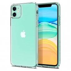 Akcija! iphone 11 dėklas Spigen Liquid Crystal TPU skaidrus