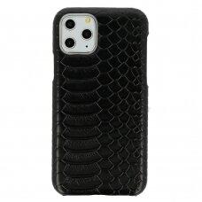 Iphone 11 Pro dėklas su gyvatės rašto imitacija Vennus WILD juodas