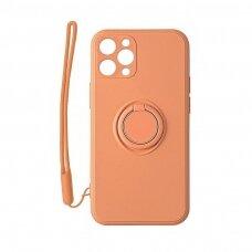 iphone 11 dėklas su magnetu Pastel Ring Oranžinis