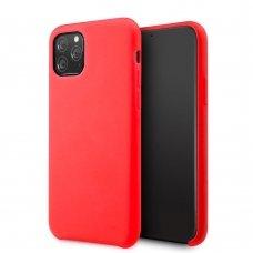 Iphone 11 pro max dėklas Vennus silicone lite raudonas